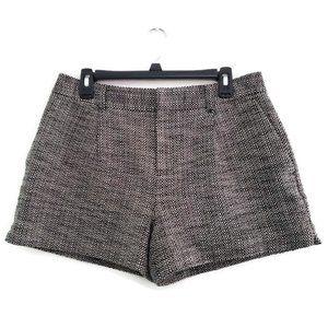 Banana Republic Boucle Shorts Tweed Lined Size 10